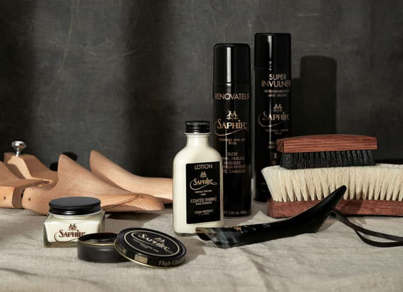 Saphir Leather Care Products